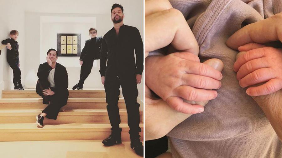 Familia de Ricky Martin