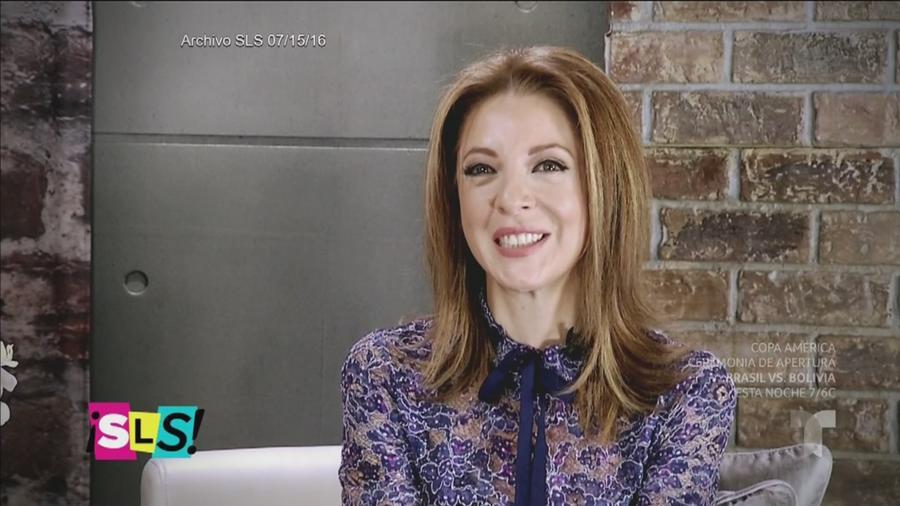 Edith González, una mujer enamorada de la vida (VIDEO)