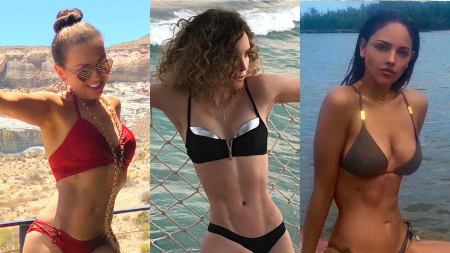 Thalía, Belinda y Eiza González presumen sus mini cinturas