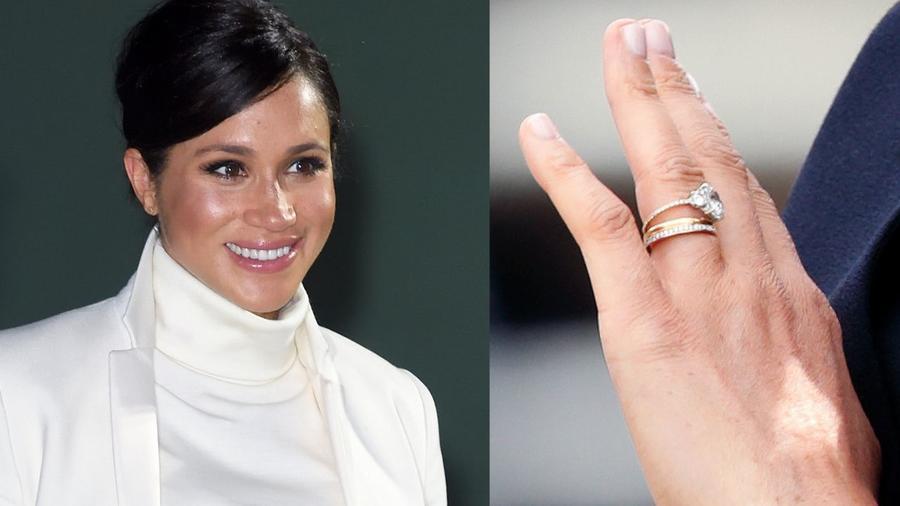 Meghan Markle rediseña su anillo de compromiso
