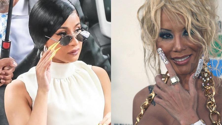 Rosalía, Cardi B, Ivy Queen y Bad Bunny: sus uñas con estilo original