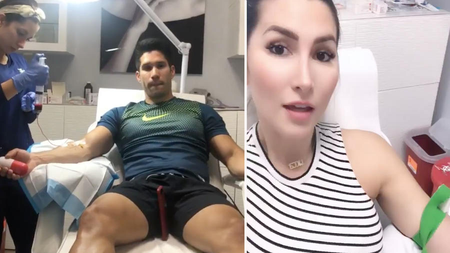 Chyno y Tashie hace ozonoterapia