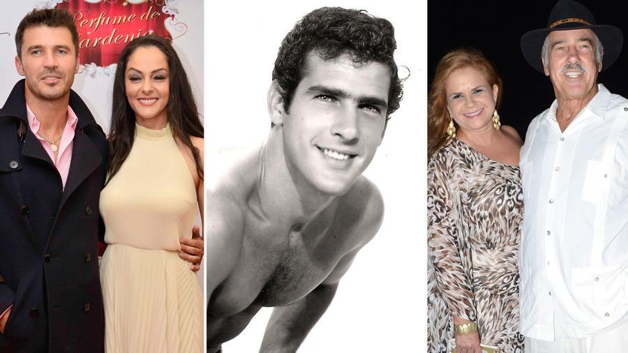 Andrés García, sus amores e hijos