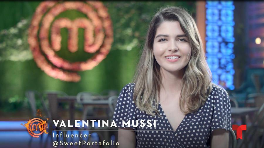 Entrevista con la Influencer Valentina Mussi en MasterChef Latino 2