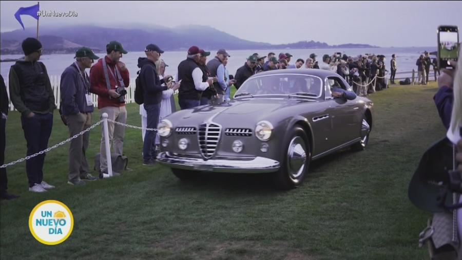 Autos en Pebble Beach