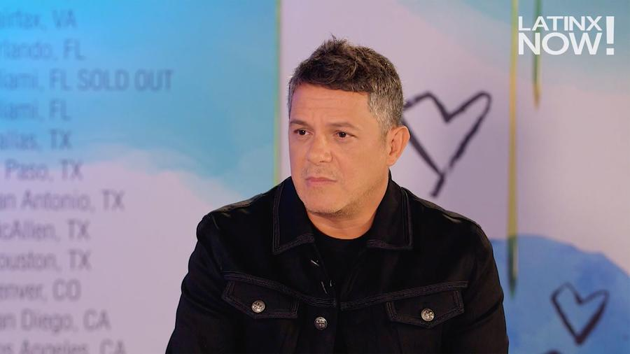 Alejandro Sanz en Latinx Now!