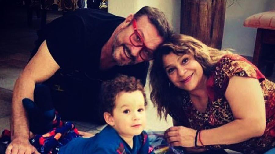 Arturo Peniche y su esposa Gaby