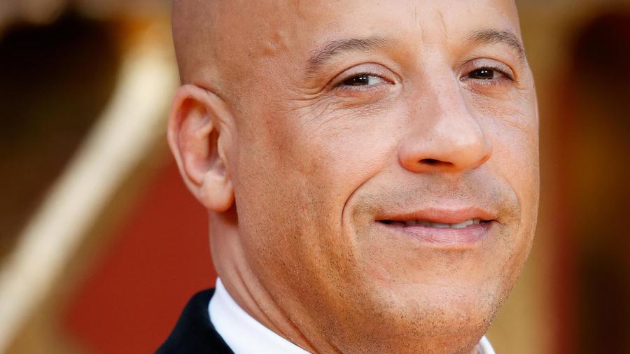 """Vin Diesel en el estreno de """"The Lion King"""" de Europa"""