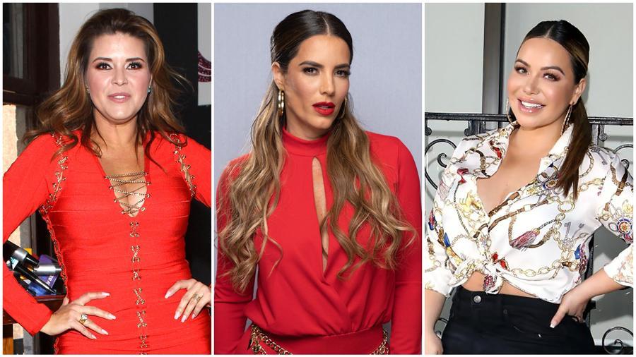 Alicia Machado, Gaby Espino, Chiquis Rivera