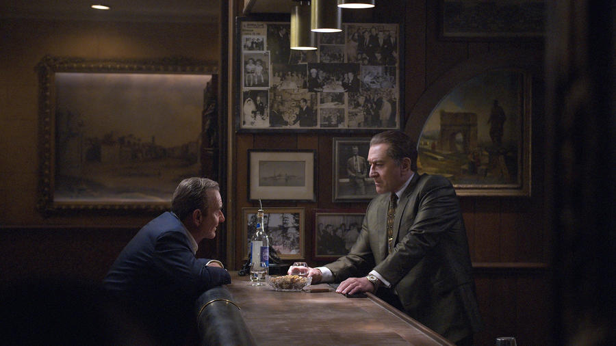 "Robert De Niro and Joe Pesci in ""The Irishman"""