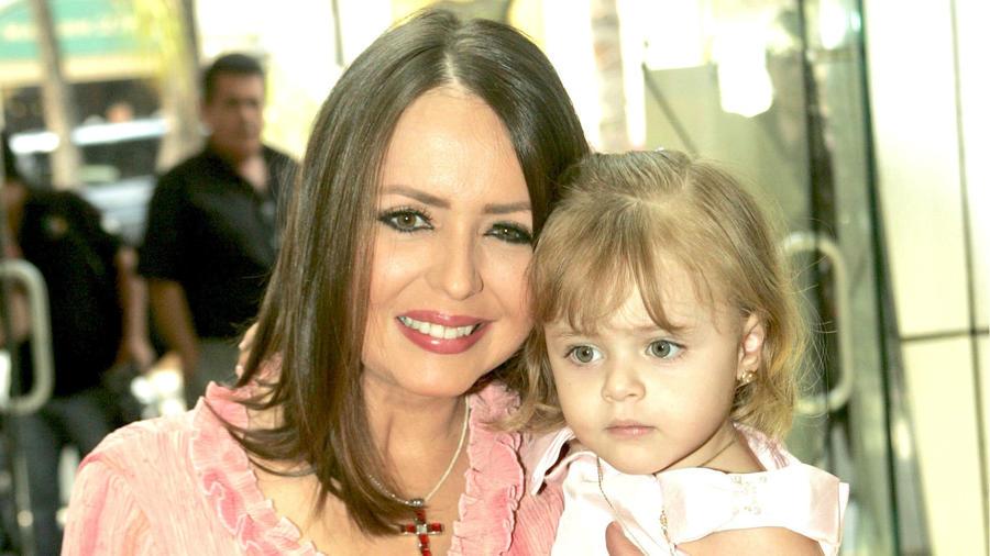 Daniela Spanic y su hija Katalina