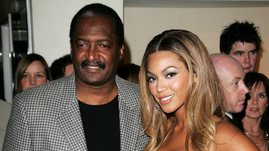 Mathew Knowles y Beyoncé