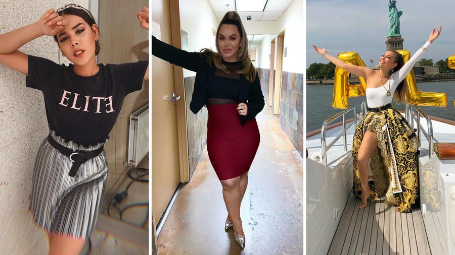 Danna Paola, Chiquis y Thalía