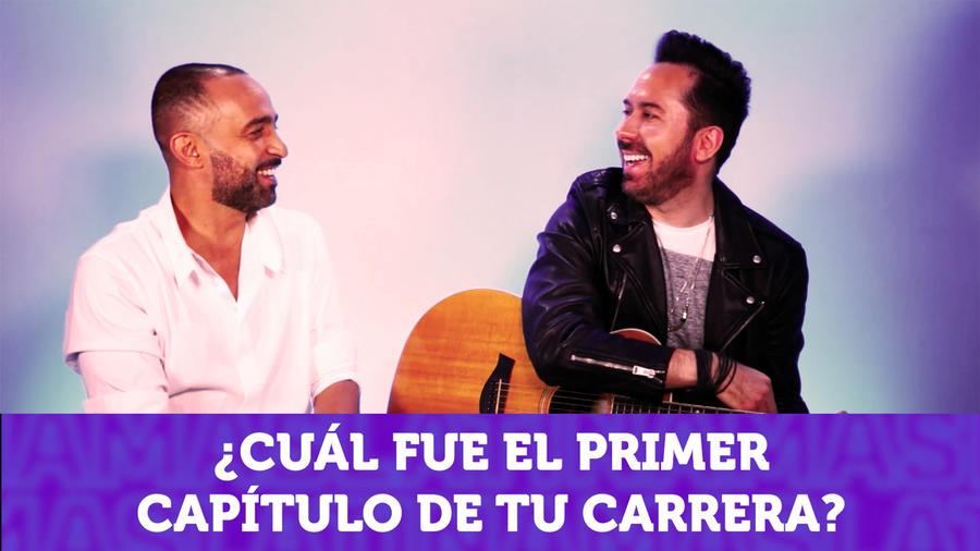 Mario Domm y Pablo Hurtado de Camila