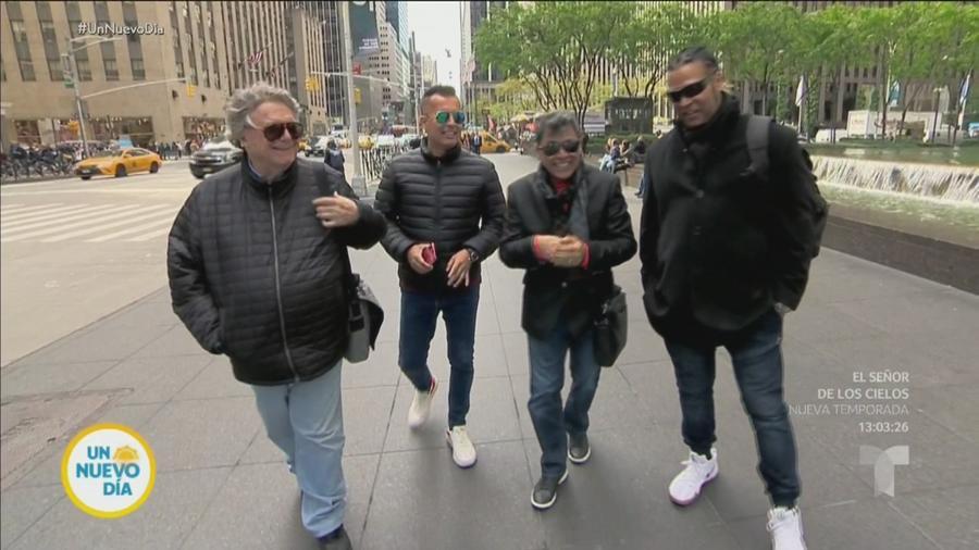 Braulio, Álvaro Torres y Amaury Gutiérrez