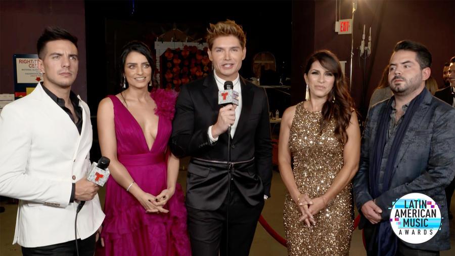 Christian Acosta y la familia de Eugenio Debrez