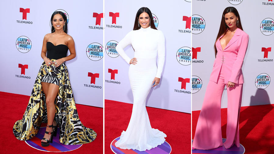 Best Looks of Latin AMAs 2019