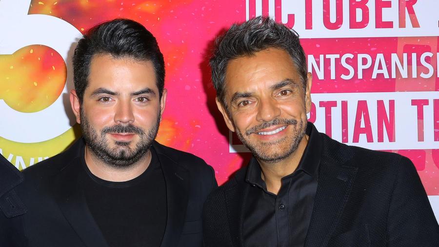 José Eduardo y Eugenio Derbez
