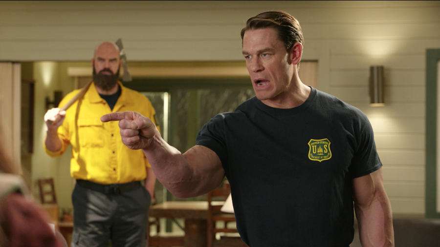 """Watch this exclusive clip for """"Playing with Fire"""" with John Cena"""