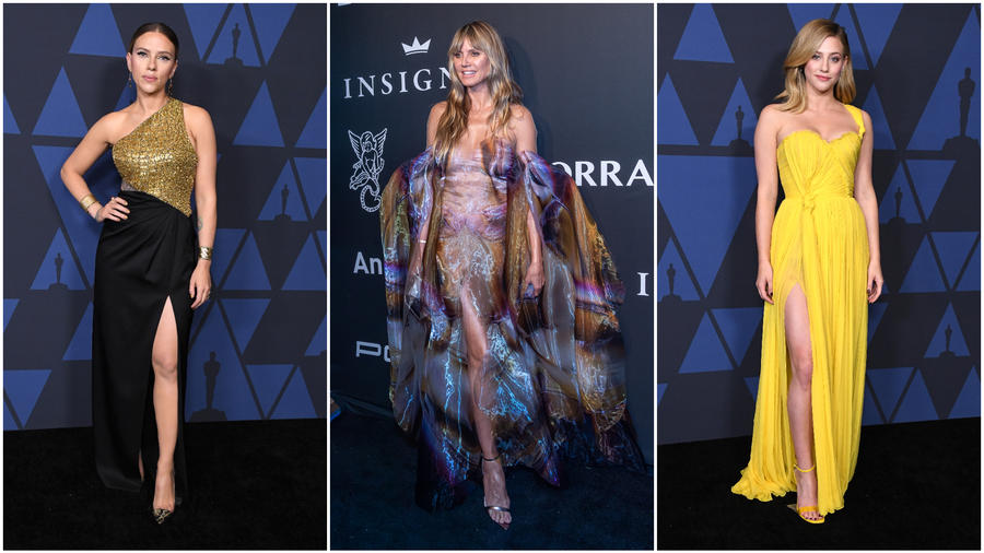 Scarlett Johansson, Heidi Klum y Lili Reinhart
