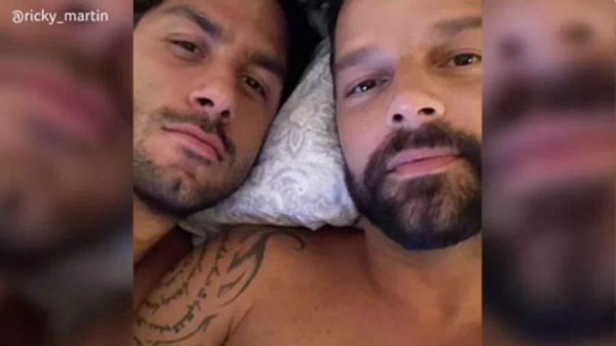 Ricky Martin y su esposo, Jwan Yosef