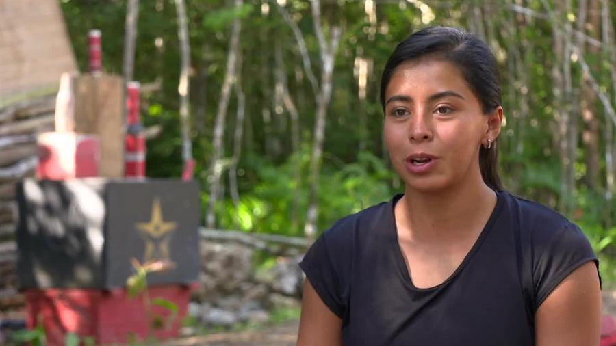 Shaila hace comentarios en entrevista