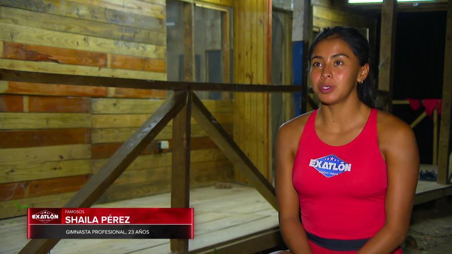 Shaila en entrevista en la Cabaña