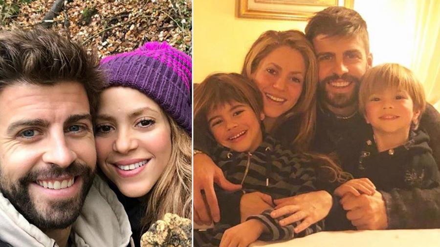 Collage Shakira familia