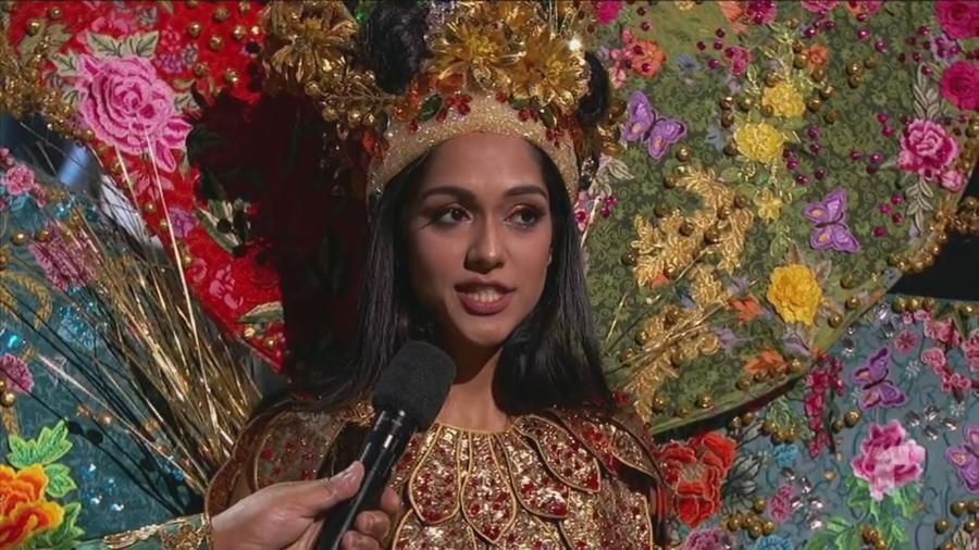 Shweta Sekhon, Miss Malasia, Ganadora traje típico, Miss Universo 2019