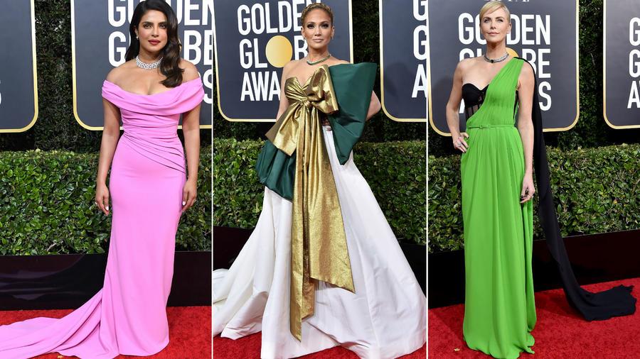 Priyanka Chopra, JLo y Charlize Theron en los Golden Globes