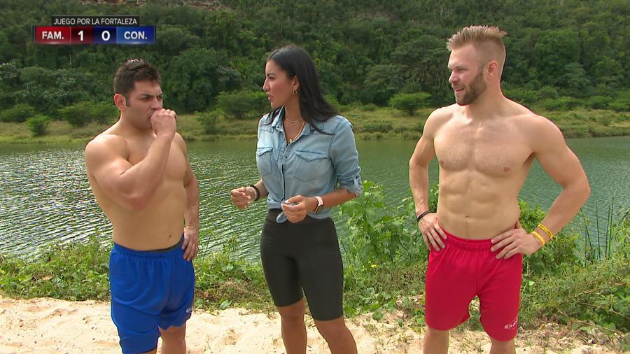 Aelleen entrevistando a Nate e Isaiah
