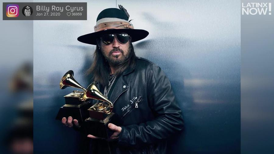 Grammys 2020: Billy Ray Cyrus Dedicates Wins To Kobe Bryant And His Daughter