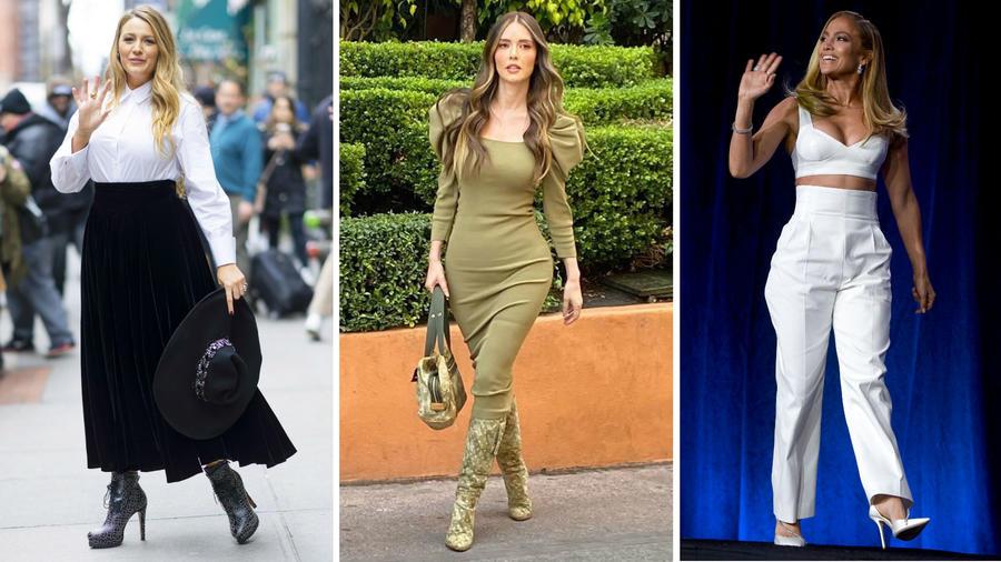 Blake Lively, Marlene Favela y Jennifer Lopez