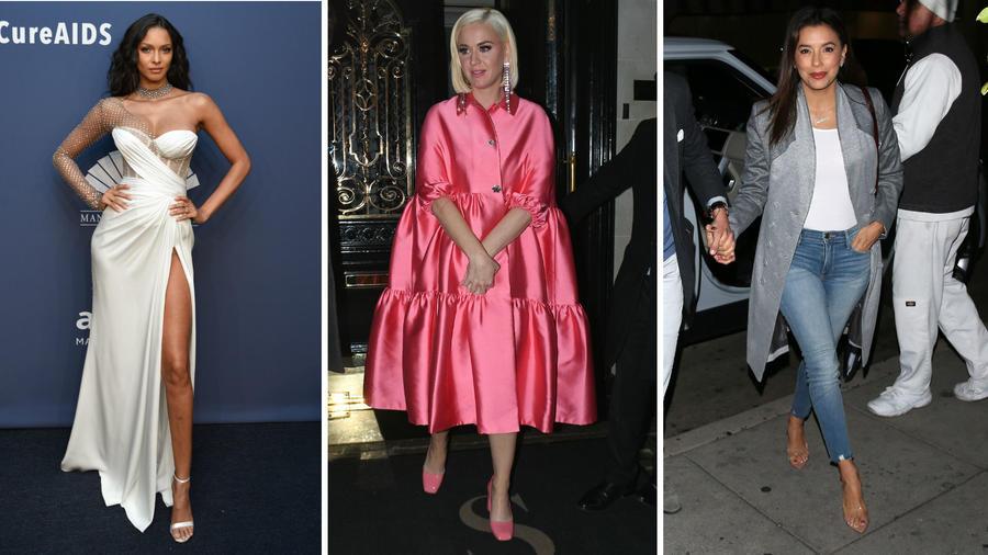 Lais Ribeiro, Katy Perry y Eva Longoria