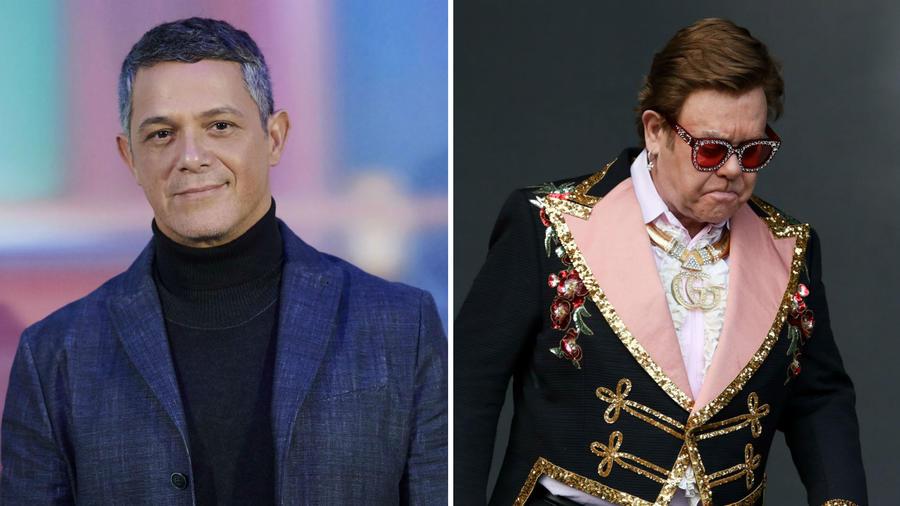 Alejandro Sanz y Elton John