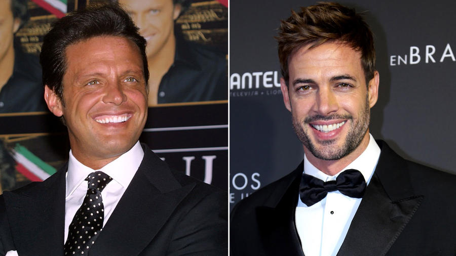 Collage Luis Miguel y William Levy