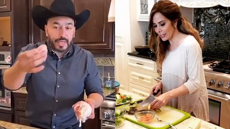 Lupillo Rivera y Gloria Trevi