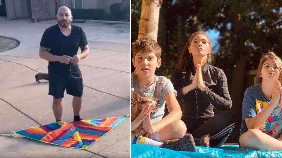 Famosos dan lecciones a sus hijos