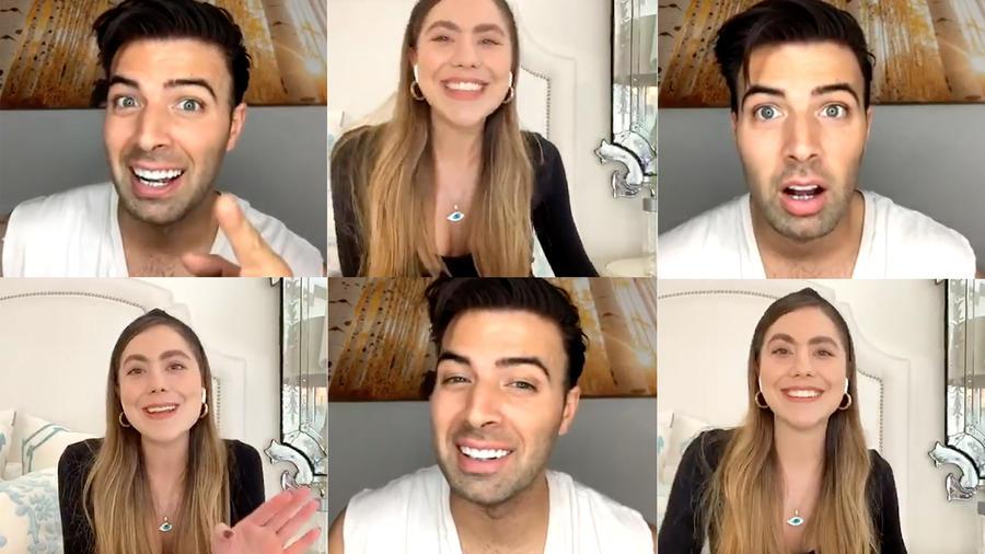 Jencarlos Canela en Happy hour Instagram Live con Latinx Now!