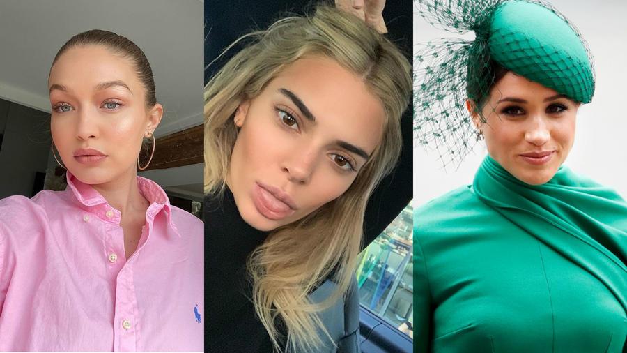 Gigi Hadid, Kendall Jenner y Meghan Markle