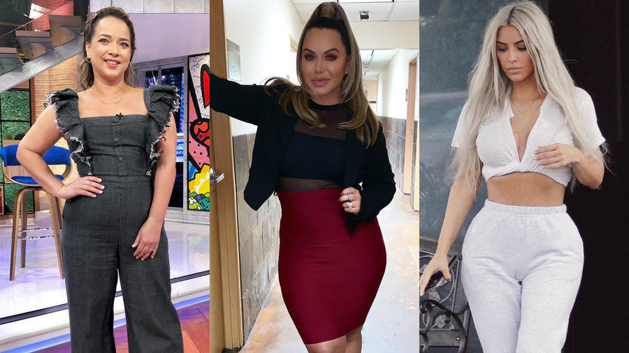 Adamari López, Chiquis Rivera y Kim Kardashian