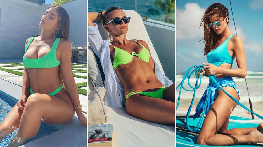 Kylie Jenner, Irina Baeva y Alessandra Ambrosio