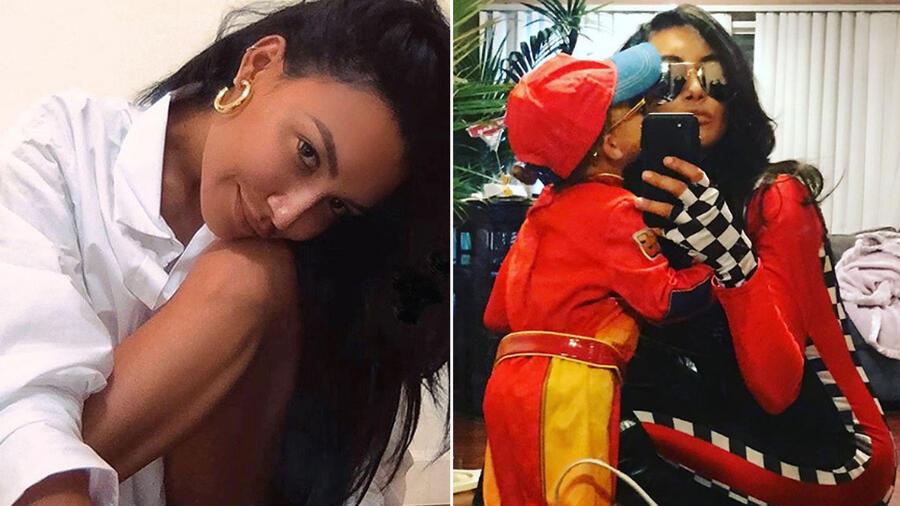 Collage Naya Rivera
