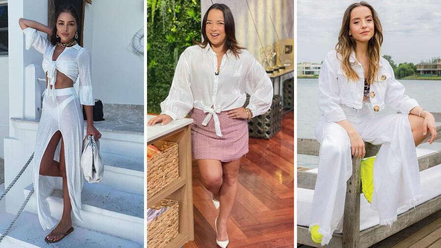 Olivia Culpo, Adamari López y Evaluna Montaner