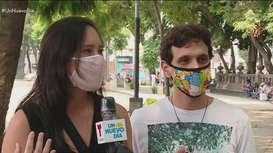 Pareja brasileña en México