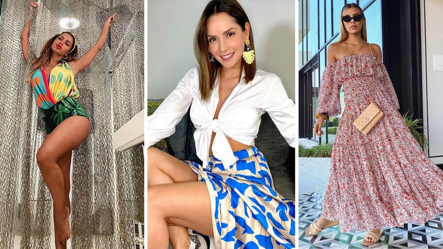 Anitta, Carmen Villalobos y Michelle Salas