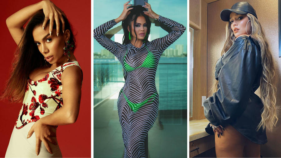 Anitta, Natti Natasha y Karol G