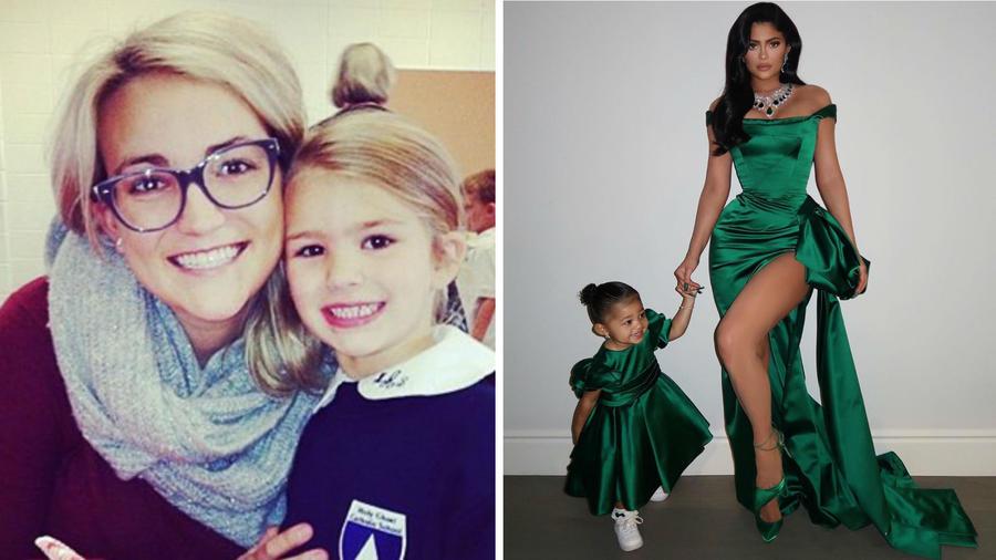 Jamie Lynn Spears y Kylie Jenner