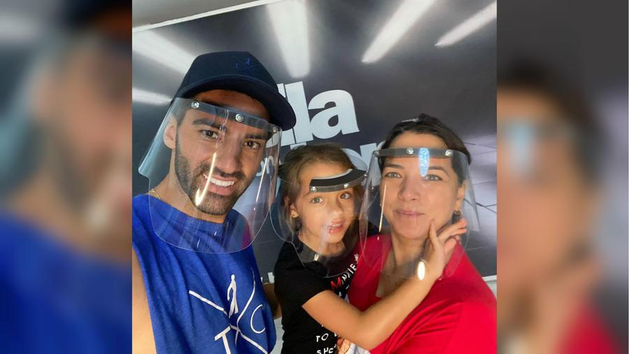 Toni Costa, Alaïa y Adamari López