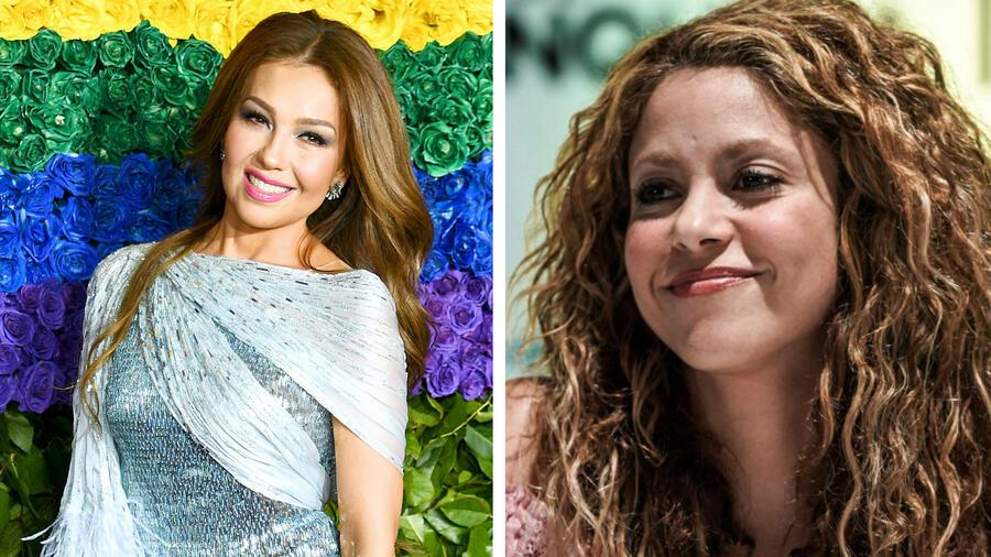 Shakira y Thalía